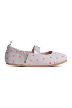 Ballet pumps - Light grey/Spotted - Kids | H&M CN 2